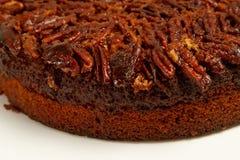 蛋糕新鲜的胡桃胡桃 库存图片