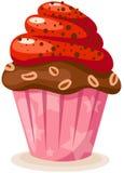 蛋糕杯子 免版税图库摄影