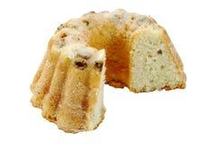 蛋糕果子查出的白色 免版税图库摄影