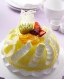蛋糕果子 免版税库存照片