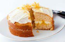 蛋糕柑桔 库存照片