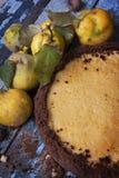 蛋糕柠檬甜点 免版税图库摄影
