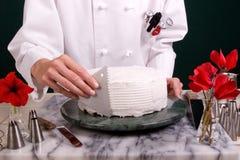 蛋糕梳子 免版税库存照片
