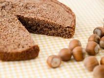 蛋糕榛子 库存图片