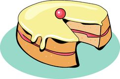 蛋糕海绵 库存图片