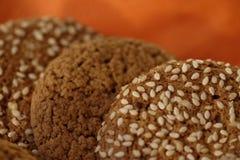蛋糕燕麦 免版税库存照片