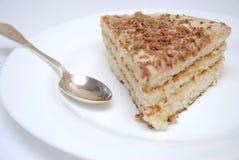 蛋糕片式 免版税库存照片