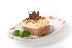 蛋糕甜点 免版税库存图片