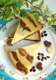 蛋糕用巧克力 免版税库存图片