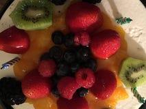 蛋糕用果子 库存照片