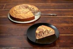 蛋糕用饼 免版税库存图片