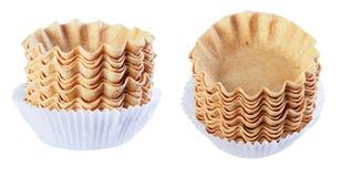 蛋糕的篮子,空,在白色背景的孤立, differen 免版税库存图片