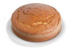蛋糕盘 免版税库存照片