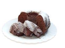蛋糕粗面粉 库存图片