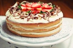蛋糕维多利亚 免版税库存照片