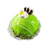 蛋糕绿色 库存照片