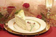 蛋糕肉欲柠檬的鸦片 免版税库存照片