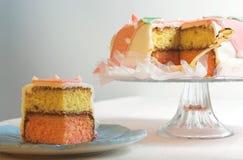 蛋糕花梢 免版税库存图片
