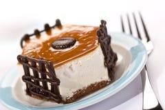 蛋糕花梢 库存照片