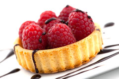 蛋糕莓 库存图片