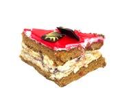 蛋糕莓 免版税图库摄影
