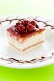 蛋糕莓 免版税库存照片