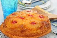 蛋糕菠萝 图库摄影