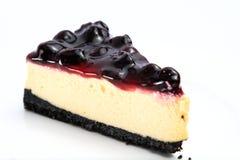 蛋糕蓝莓 库存图片