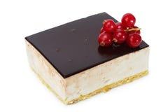 蛋糕蛋白牛奶酥 库存照片