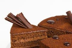 蛋糕裁减 免版税库存图片