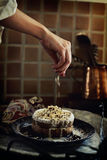 蛋糕装饰 库存图片