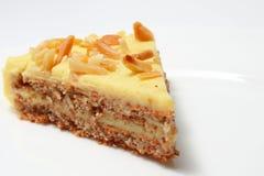 蛋糕部分 免版税图库摄影
