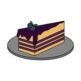 蛋糕酥皮点心象图象 皇族释放例证