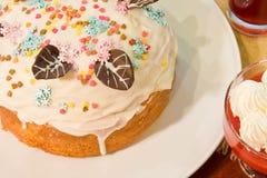 蛋糕酯类 库存照片