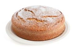 蛋糕酸奶 库存照片