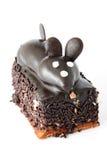 蛋糕鼠标 库存照片