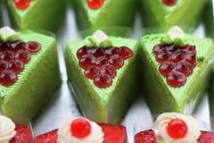 蛋糕绿色 免版税库存图片