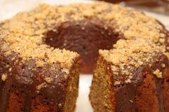 蛋糕kuglof 图库摄影