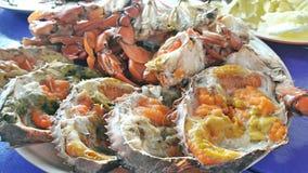 蛋螃蟹 免版税库存照片