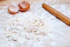 蛋面粉 免版税库存照片
