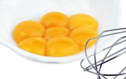 蛋黄 免版税库存图片