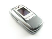 蛤壳状机件现代电话 图库摄影