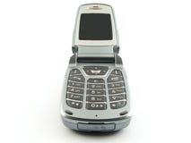 蛤壳状机件现代电话 免版税库存图片