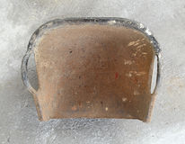 蛤蜊壳形状的篮子 库存照片