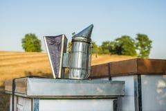 养蜂业工具 免版税库存图片