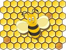 蜂动画片 库存照片