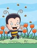 蜂孩子 免版税库存图片