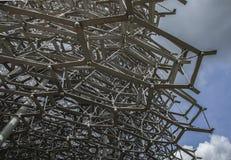 蜂房的结构 免版税图库摄影