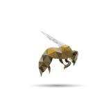 蜂摘要 免版税库存照片