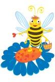 蜂甜点 向量例证